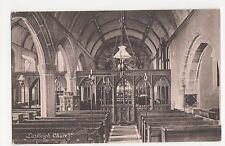 Lustleigh Church, Devon Postcard, A853