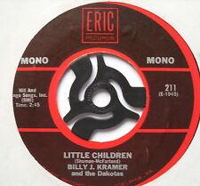 "BILLY J KRAMER - Little Children - Excellent Condition 7"" Single Eric 211"