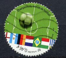 TIMBRE FRANCE OBLITERE N° 3483 SPORT FOOTBALL CHAMPIONAT DU MONDE ALLEMAGNE