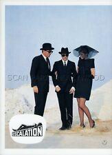 DADA GALLOTTI   LINO CAPOLICCHIO ESCALATION 1968 VINTAGE LOBBY CARD #3
