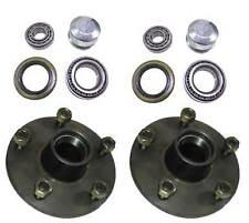 5 STUD FORD TRAILER HUBS WITH HOLDEN BEARING SET