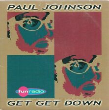 CD 2 TITRES--PAUL JOHNSON--GET GET DOWN--1999