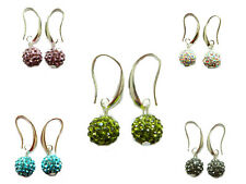 Promotional Price! Shamballa Style Earrings Drop 5 Colours to choose E250