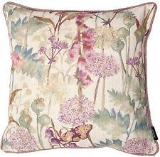Linen Blend Floral & Garden Square Decorative Cushions