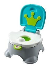 Fisher-Price Step Stool Potty Royal