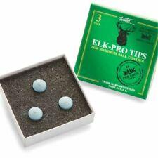 Elk Master Pro Pool Snooker Cue Tips - 10mm Medium