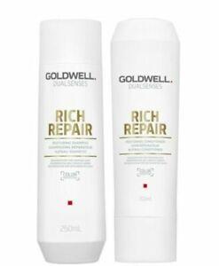 Goldwell Dualsenses Rich Repair Shampoo 250ml and Conditioner 200ml