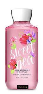 Bath & Body Work Shower Sweet Pea Shea & Vitamin E Shower Gel 10oz