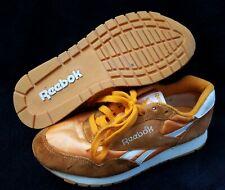 Reebok Orange & White Sneakers Original Vintage 1980s-1990s *Read Description*
