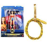 Greatest Multiverse Wonder Woman Lynda Carter Signature Figure W/ Light Up Lasso