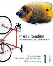 Inside Reading 1 Student Book Pack: The Academic Word List in Context (Inside