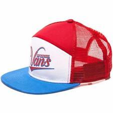 Snapback Solid 100% Cotton Trucker Hats for Men