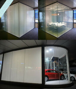 Switchable Privacy Film Smart Glass Window Blind Shade PDLC Power Inverter kit