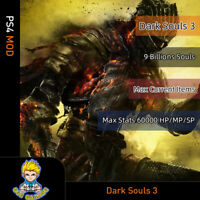 Dark Souls 1/2/3 (PS4 Mod)- Max Soul/Max Item/Max status/Weapons/Gears