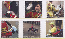 GB 2005 QEII TROOPING the COLOUR SET MNH