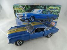1:18 Exact Détail Mustang Shelby G.T 350H Bleu que Défectueux Limitée Ed.