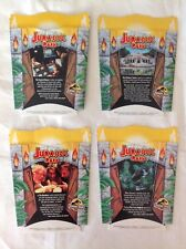COMPLETE SET of 4 BRAND NEW McDonalds/Jurassic Park Large Fry Boxes