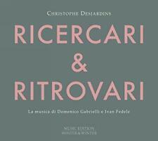 RITROVARI RICERARI - DESJARDINS,CHRISTOPHE   CD NEU