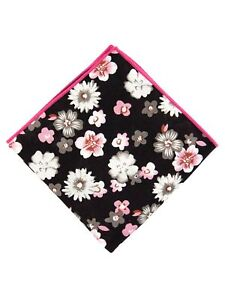 Men's Cotton Designed Pocket Squares Wedding Handkerchiefs