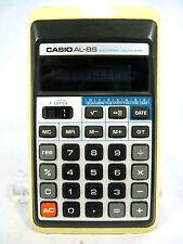 Rare 70´s vintage Calculator calculadora Casio al - 8 S + case working