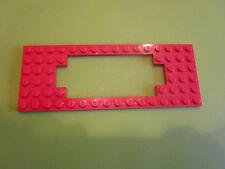 Lego Eisenbahn: 1 Motorrahmenplatte rot für z.B. 7727