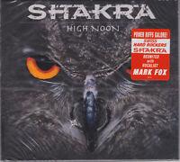 Shakra 2016 CD - High Noon (Ltd. Digi.) Crystal Ball/Krokus/Gotthard - Sealed