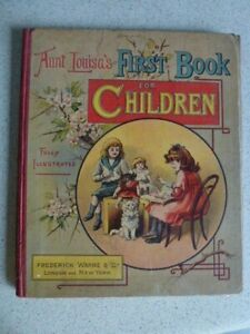 Aunt Louisa's First Book for Children - Illustrated