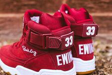 Ewing Athletics 33 HI Maroon Burgundy Basketball Sneakers 1EW90013-602 USA 11