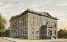 City Hall in The Dalles OR Postcard