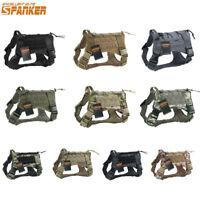 Tactical Dog Vest Service Pet Training Military Harness Adjustable Shirt Clothes