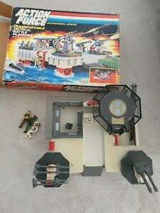 Vintage 1985 Hasbro Action Force GI Joe Transportable Tactical Battle Platform