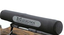 "Neoprene Gun Rifle Scope Cover -  Black Suits upto 13"" scopes"