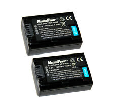 Non-OEM Battery for SONY NP-FH50 NP-FH40 NP-FH30 Alpha DSLR-A230 (2PK)