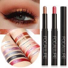 12 Color Eyeshadow Pencil Palette Glitter Eye Shadow Eyeliner Pen Charm UK
