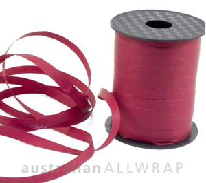NEW_Textured Curling Ribbon BURGUNDY 10mm x 250m (Metres)