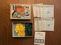 HOKUM VINTAGE PARKER BROTHERS BOARD GAME Bingo