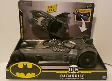 """Batman """"The Caped Crusader"""" Batmobile 2-In-1 Vehicle 1st Edition. New."""