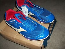 Mizuno Mens Track Spikes SZ 13 NEW w Tags Blue Tempo MD
