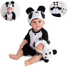 """16"""" Full Body Silicone Reborn Baby Doll Lifelike Waterproof Girl Doll Gifts Toys"""