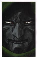 Mike McKone SIGNED Marvel Comic Art Print ~ Doctor Dr. Doom / Fantastic Four