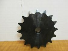 """Browning 60A16 Plate Roller Chain Sprocket Type A Hub 5/8"""" Bore 16 Teeth New"""