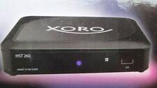 Xoro HST 260 T2/C Smart TV IP-Box 3-in-1: IPTV, Terrisch-und-Kabel-Receiver NEU