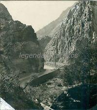 1933 Ogden Canyon Utah Original News Service Photo