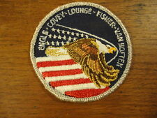 1985 Space Shuttle Astronauts Engle Covey Lounge Fisher Van Hoften Sew On Patch