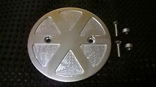 POLISHED ALUMINIUM SPOKED PATTERN SMALL PULLEY 29 TOOTH COVER BUELL X1 LIGHTNING