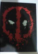 DEADPOOL Notebook / Journal / Diary Marvel Comic Notepad Movie Fans Hardback