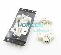 10pcs CR2032 CR2025 CR2016 SMD PCB Mount 2Pin Cell Battery Socket Holder Case Go