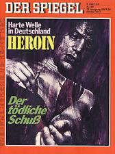 """""""Der Spiegel"""" Nr. 23 von 1977, Heroin, Stellensuche in DDR, Sowjet-Deutsche uvm."""