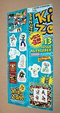 2001 Nintendo Go Sticker Set Game Boy Color Mario Donkey Kong Country Pokemon