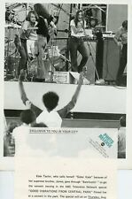 KATE TAYLOR GOOD VIBRATIONS FROM CENTRAL PARK ORIGINAL 1971 ABC TV PHOTO